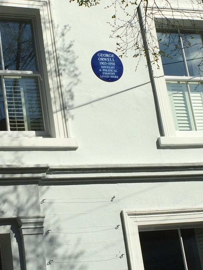So this famous author lived really close to Portobello Road.