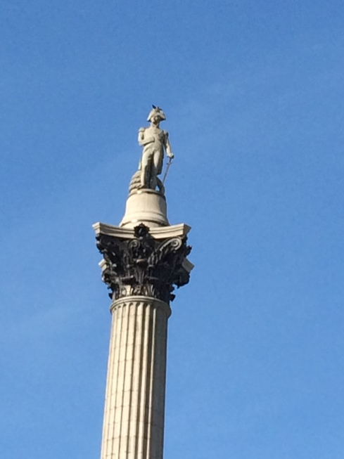 I liked how Horatio Nelson had a VERY tall statue.