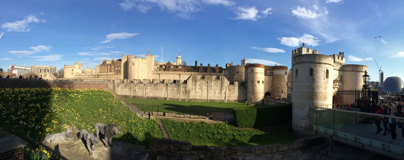 Here's a fuller view of the Tower of London.
